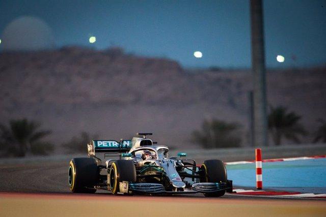 Lewis Hamilton en el Gran Premi de Bahrain