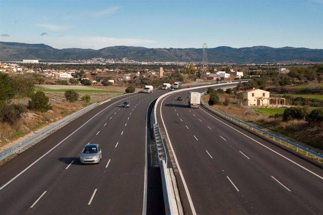 Autopista gestionada por Abertis (Imagen de archivo)