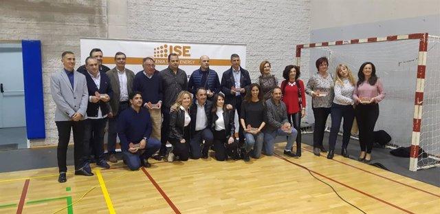 Ayuntamiento y Diputación arropan al CB Almería