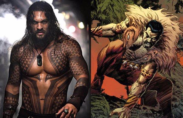 Jason Momoa, uno de los favoritos de los fans para ser Kraven el cazador de Marvel