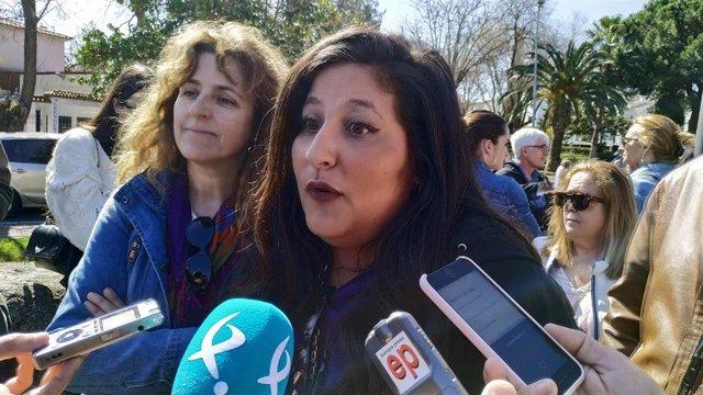 La diptuada de Cs Extremadura Marta Pérez
