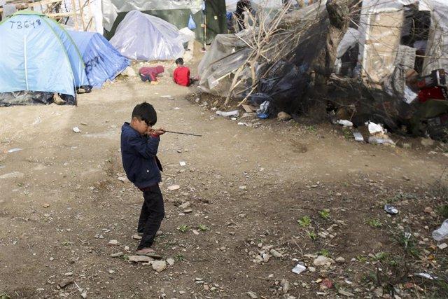 Grecia.- El Gobierno griego suspende los subsidios a refugiados y acusa a SYRIZA