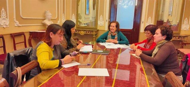 Reunión sobre las Olimpiadas Escolares en Cádiz