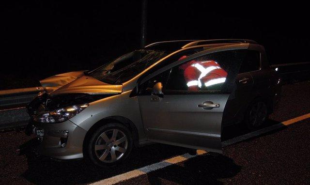Sucesos.- Un fallecido tras ser atropellado en la Autovía del Camino en Legarda
