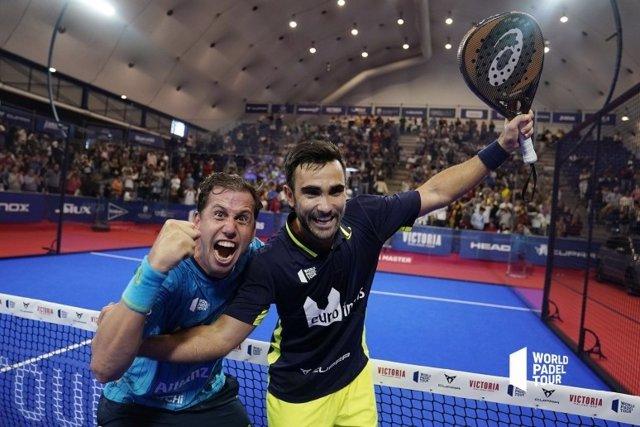 La pareja formada por Paquito Navarro y Pablo Lima se ha proclamado campeona del Cervezas Victoria Marbella Master, del World Padel Tour