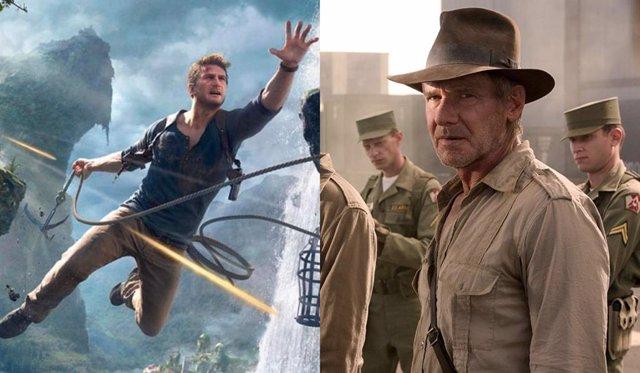El videojuego Uncharterd e Indiana Jones