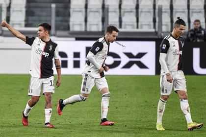 La Juventus se quita de encima al Inter en un Calcio a punto de parar por el coronavirus