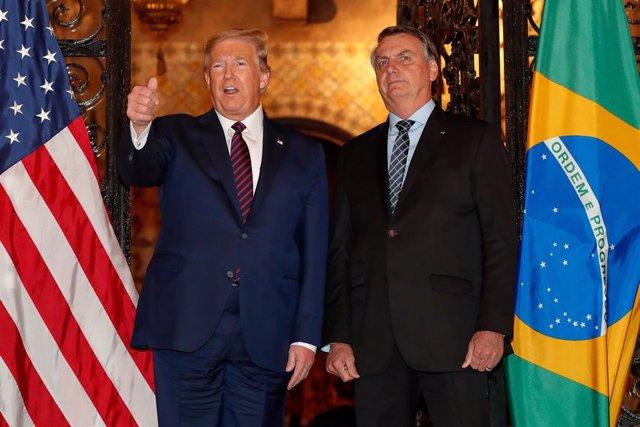 Venezuela.- Trump y Bolsonaro certifican su sintonía reafirman su apoyo a Juan G