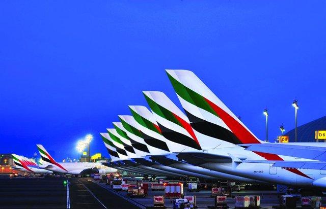 Aviones de Emirates