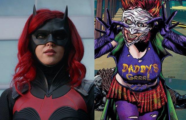 Batwoman presenta a la hija de Joker