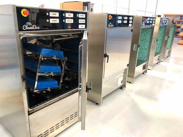 Máquinas listas para instalar