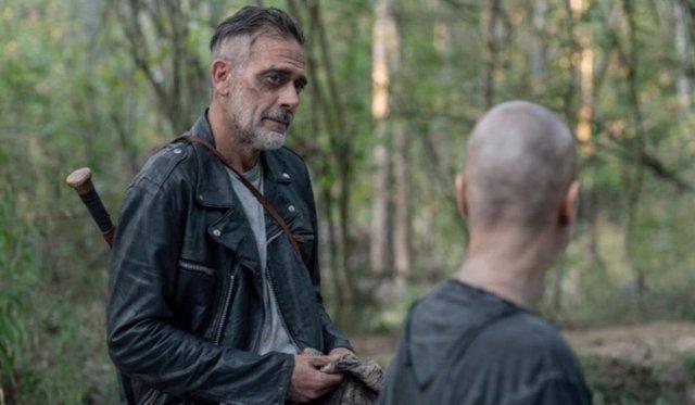 Negan y Alpha en The Walking Dead