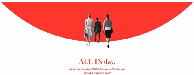 COMUNICADO: EAE Business School organiza All in day EMBA - Business Challenge pa