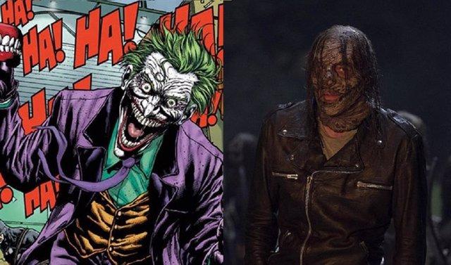 Fans de The Walking Dead comparan la máscara de Negan con el Joker