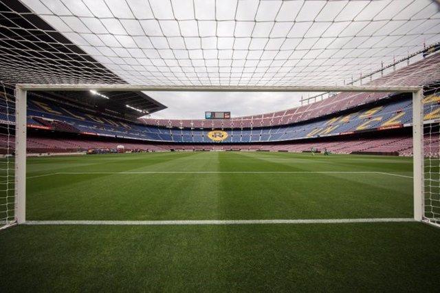 Imatge del Camp Nou, estadi del FC Barcelona.