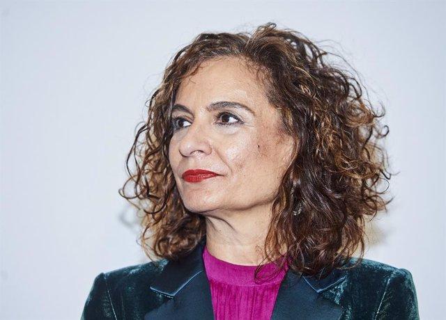 La ministra d'Hisenda i portaveu del Govern central, María Jesús Montero, a Santander/Cantàbria (Espanya) 5 de març del 2020.