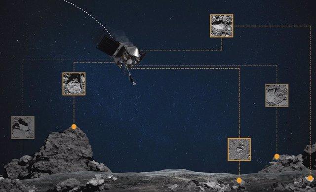 La NASA reinventa la navegación óptica para tomar muestras de Bennu