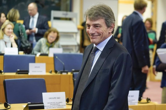 El president del Parlament Europeu, David Sassoli.