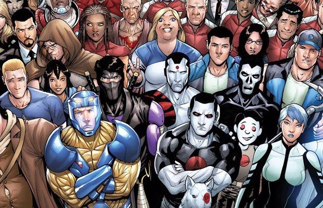 Bloodshot y el resto de personajes de Valiant Cómics