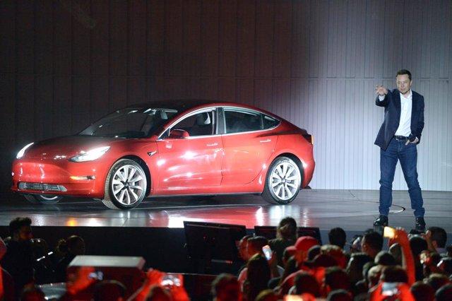 El cofundador y consejero delegado de Tesla, Elon Musk