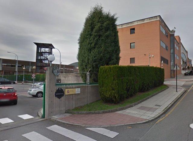 Cuartel de la Guardia Civil en Oviedo