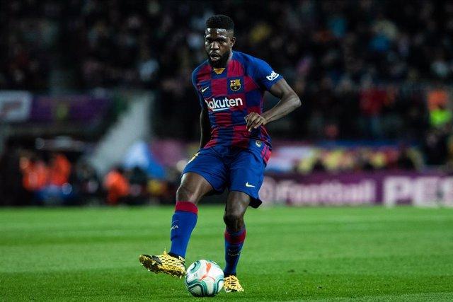 AV.- Fútbol.- El jugador del Barça Umtiti deberá pagar 32.900 euros por daños en