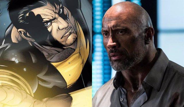 Dwayne 'The Rock' Johnson se prepara para Black Adam