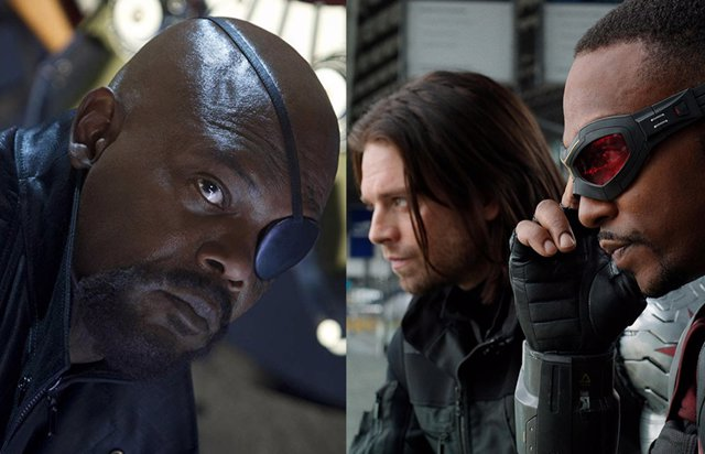 Falcon and The Winter Soldier y Nick Fury