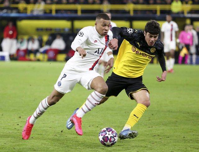 Fútbol/Champions.- Previa del PSG - Borussia Dortmund