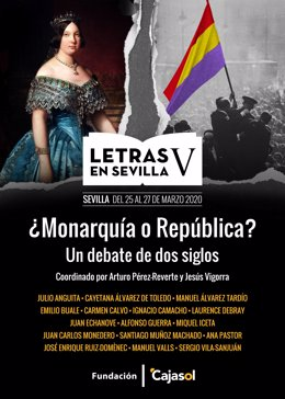 Sevilla.-Cajasol.- Se celebra la quinta edición de 'Letras en Sevilla' que debat