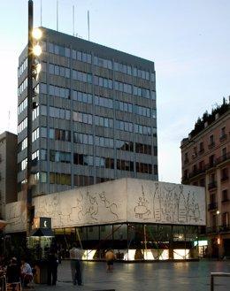Seu del Col·legi d'Arquitectes de Catalunya (Coac) de Barcelona (arxiu).