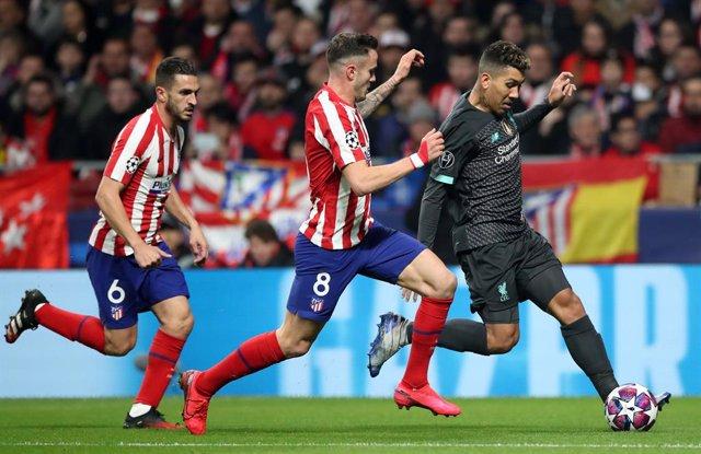 Fútbol/Champions.- Previa del Liverpool - Atlético de Madrid