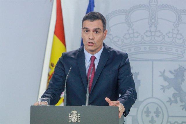 AV.- Coronavirus.- Sánchez pide a la UE flexibilidad fiscal para aprobar ayudas