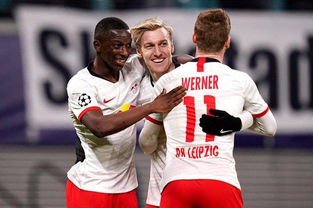 Fútbol/Champions.- Crónica del Leipzig - Tottenham, 3-0