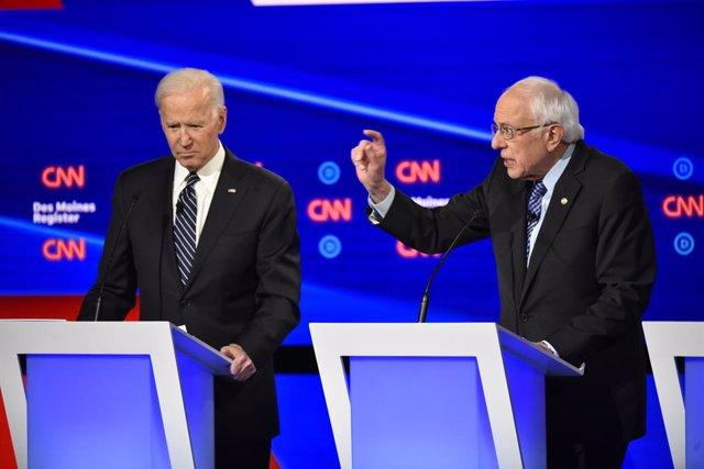 Coronavirus.- Biden y Sanders suspenden sus actos de campaña en Cleveland por el