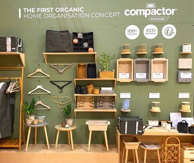 COMUNICADO: Compactor, marca líder en productos de orden, mejora su impacto medi