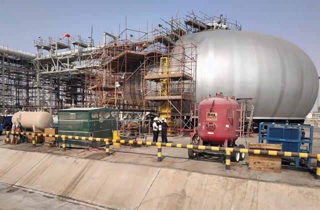 A.Saudí.- Aramco elevará su capacidad de producción a un récord de 13 millones d