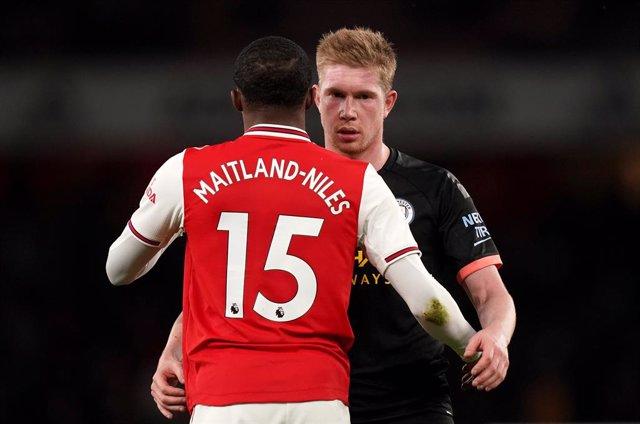 Fútbol.- El Manchester City-Arsenal, primer partido aplazado en Inglaterra por e
