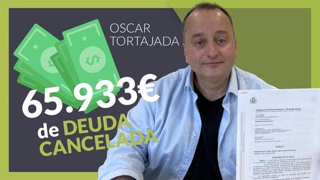 COMUNICADO: Repara tu Deuda abogados cancela 65.933 € con 16 bancos y Hacienda c