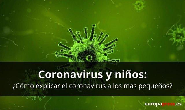 Coronavirus y niños: ¿Cómo explicar el coronavirus a los más pequeños?
