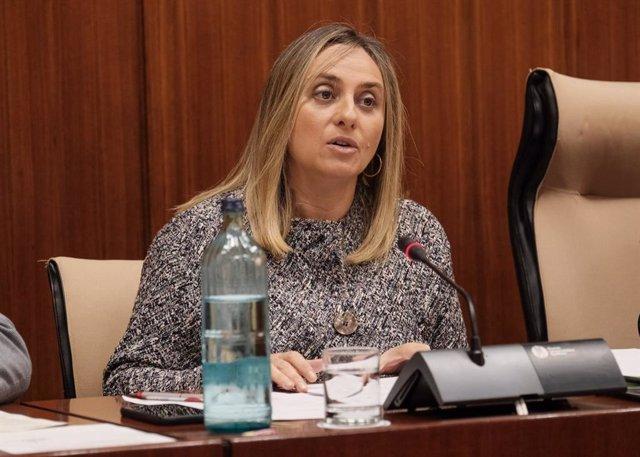 La consejera de Fomento de la Junta de Andalucía, Marifrán Carazo