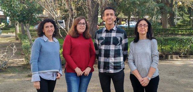 María Romay, Vicenta González, Pedro Berzosa y Luz García, investigadoras del Centro Nacional de Medicina Tropical del ISCIII y autores del trabajo, que también firman Laura Taravillo y Agustín Benito, director del CNMT.