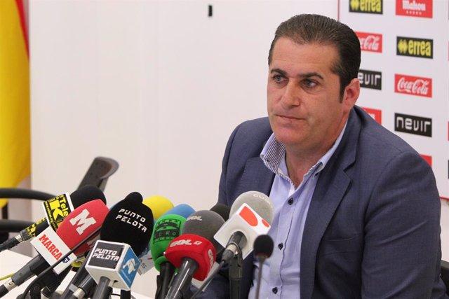 Fútbol.- José Ramón Sandoval, nombrado nuevo técnico del CF Fuenlabrada en susti