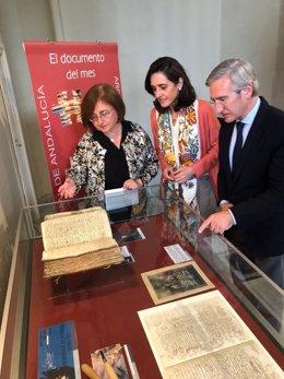Visita a la muestra de Martínez Montañés
