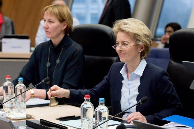 Coronavirus.- Von der Leyen cancela su visita mañana a Grecia por la crisis del