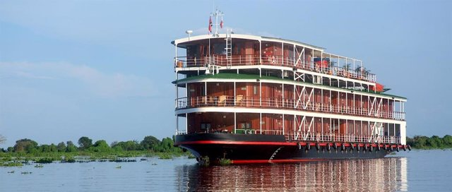 Coronavirus.- Unas 60 personas en cuarentena en un crucero en Camboya tras tres