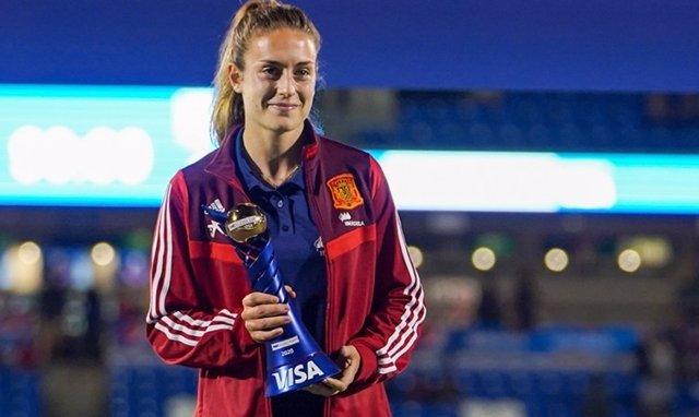 Fútbol/Selección.- Alexia Putellas, elegida mejor jugadora de la 'She Believes C
