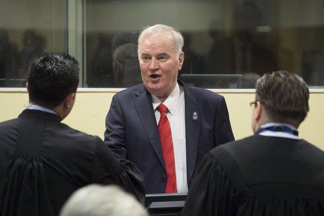 Balcanes.- Aplazada la vista de apelación del exgeneral serbobosnio Ratko Mladic