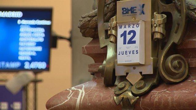 VÍDEO: El Ibex 35 se desploma un 6% y defiende los 7.000 a la espera del BCE y t
