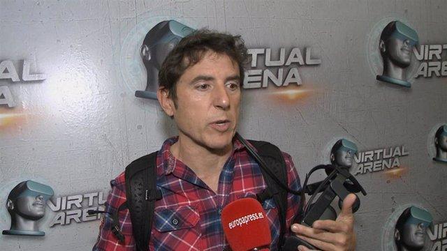 Manel Fuentes, en la presentación de Virtual Area